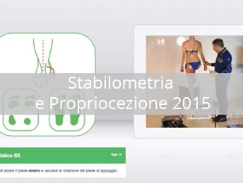 Stabilometria e Propriocezione 2015