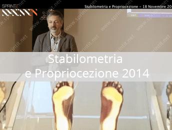 Stabilometria e Propriocezione 2014